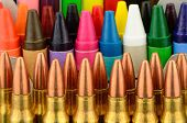 Bullets And Crayons