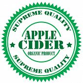 Apple Cider-stamp