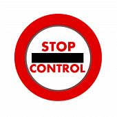 Security Stop Control Icon