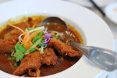 Chinese Vegetarian Mock Chicken Curry
