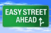 Easy Street Road Sign