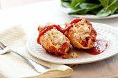Stuffed Ricotta Cheese Shells