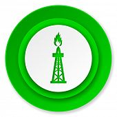 gas icon, oil sign