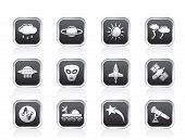 Astronautics and Space and universe Icons