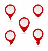 pin map marker pointer interface icon