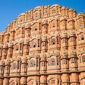 Hawa Mahal palace (Palace of the Winds), Jaipur, Rajasthan