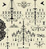 Vintage Elements With Ornate Elegant Designs