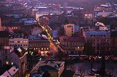 Twilight in Lviv
