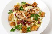foto of italian parsley  - Chicken caesar salad - JPG