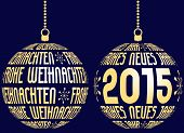 german merry christmas and happy new year