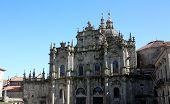 Detail Of Cathedral, Santiago De Compostela, Spain