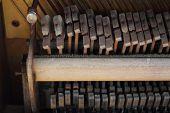 Retro Piano Hammer Detail