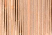 Wooden Slate Deck Section