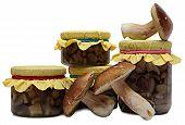 Marinaded Mushrooms