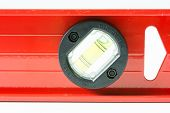 Red Spirit Level Isolated