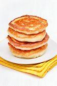 Curd Pancakes Stack