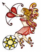 Love Fairy With Cupids Arrow
