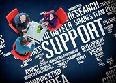 pic of motivation talk  - Support Idea Plans Vision Business Growth Global Concept - JPG