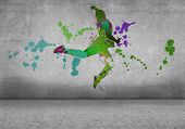 ������, ������: Abstract dancer