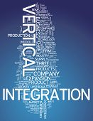 picture of upstream  - Word Cloud with Vertical Integration related tags - JPG