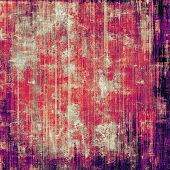 pic of violets  - Designed background in grunge style - JPG