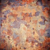 image of dingy  - dingy camouflage on natural canvas