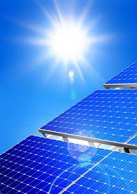 foto of solar battery  - Renewable - JPG