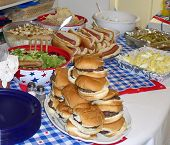 pic of hot dog  - food for independence day celebration summer cookout - JPG