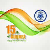 foto of indian independence day  - Creative Indian Independence Day concept - JPG
