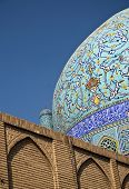 Detail Of Mosque Esfahan Iran