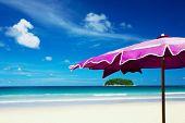 Island And Umbrella