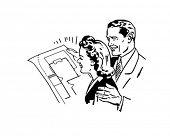 Prüfung der Grundrisse-paar neues Haus kaufen
