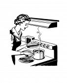 Home Cooking - Retro Clip Art