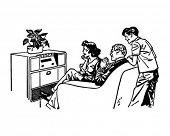 Our Favorite Radio Show - Retro Clip Art