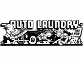 picture of car wash  - Auto Laundry 2  - JPG
