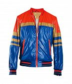 blue sport jacket