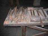 Old Blacksmithing Tools