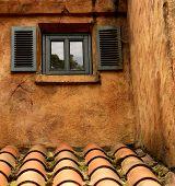 Little Window With Two Shutters