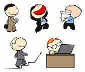 Office workers #2 (raster version)