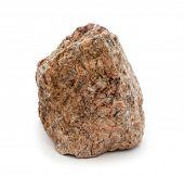 stone isolated on white background,Granite,in my portfolio have more photos of stones