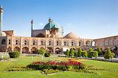 Jame Abbasi mosque on Naqsh-i Jahan Square , Esfahan, Isfahan, Iran