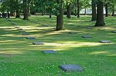German cemetery World War