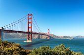 Golden Gate Bridge In San Francisco poster