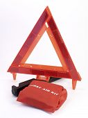 Warning Triangle & First Aide Kit