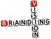 3D Branding Vision Crossword poster
