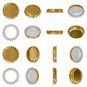 Gold Crown Cap