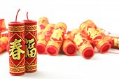 picture of chinese crackers  - Chinese New Year Decoration - JPG