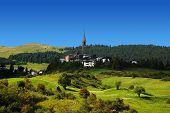 Typical Swiss Landscape
