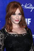 LOS ANGELES - SEP 21:  Christina Hendricks arrives at the Variety and Women in Film Pre-Emmy Event a