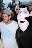 LOS ANGELES - SEP 22:  Adam Sandler, Frankenstein Character arrives at the